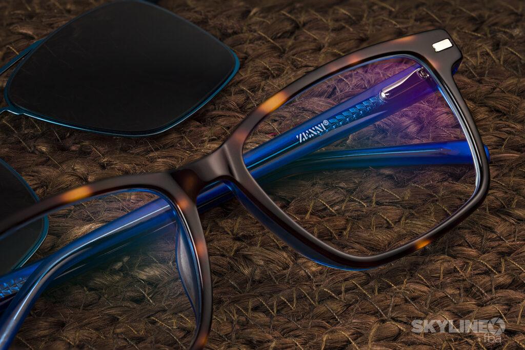 Lifestyle image of glasses