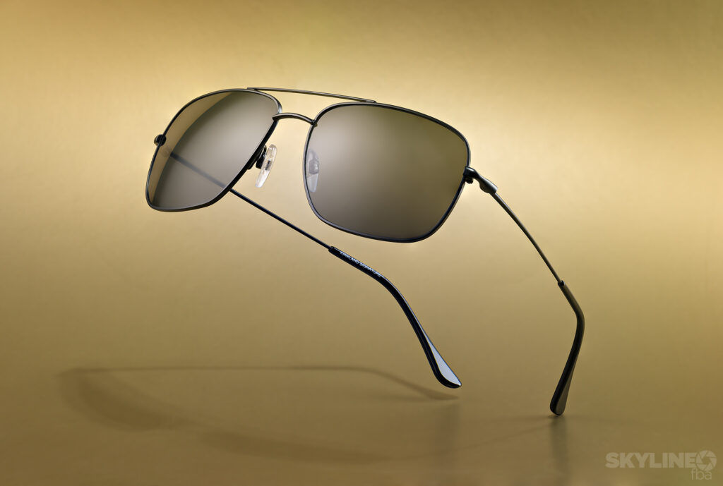 Product Photography of Kirkland Sunglasses